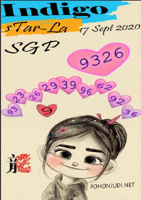 Kode syair Singapore Kamis 17 September 2020 156