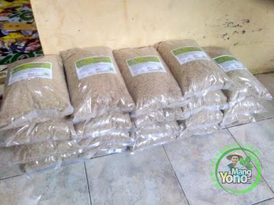 ABDULLAH SAHAL Rembang, Jateng   Pembeli Benih Padi TRISAKTI 75 HST Panen.  10 Kg atau 2 Bungkus.