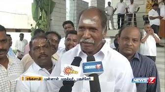 NR congress leader Rangasamy wish for Jayalalithaa's recovery