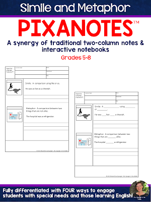 Students remember more with visuals like those found in Pixanotes!