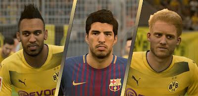 FIFA 18 Facepack by Alireza Free