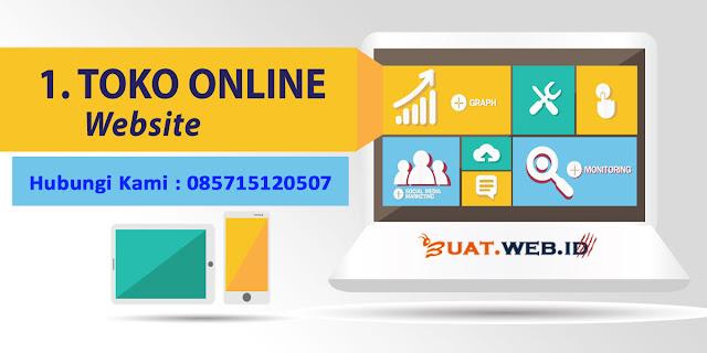 Jasa Pembuatan Website Toko Online Murah di Depok