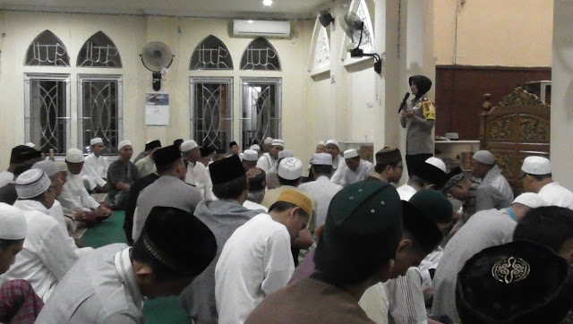 Kapolres Muba Safari Shubuh di Masjid Al Asri Sekayu
