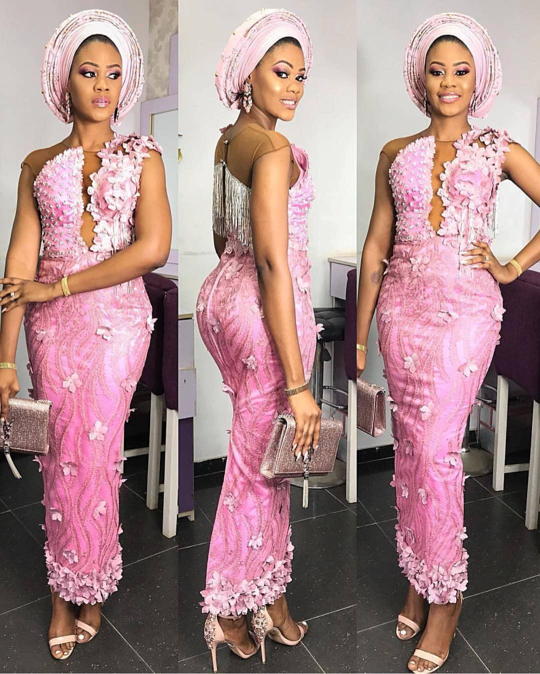 aso ebi styles for wedding guest