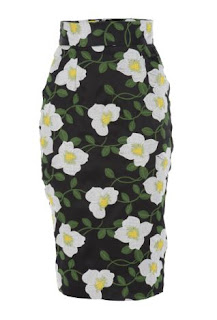 Bambah's Benny Black Pencil Skirt