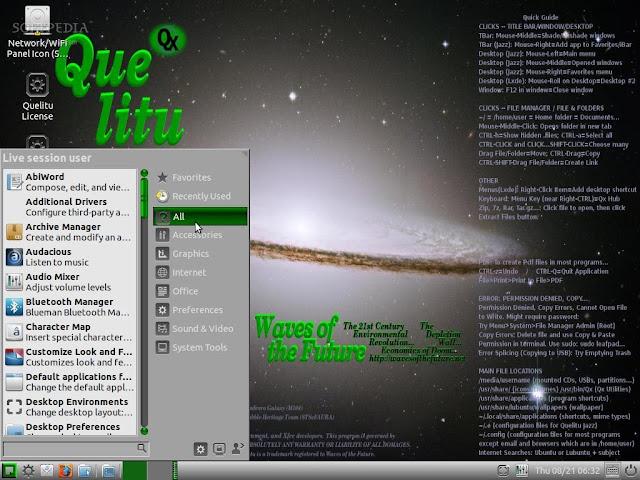 Conheça o Quelitu 16.04 um sistema que promete rodar em computadores antigos e ser compatível com o Windows!