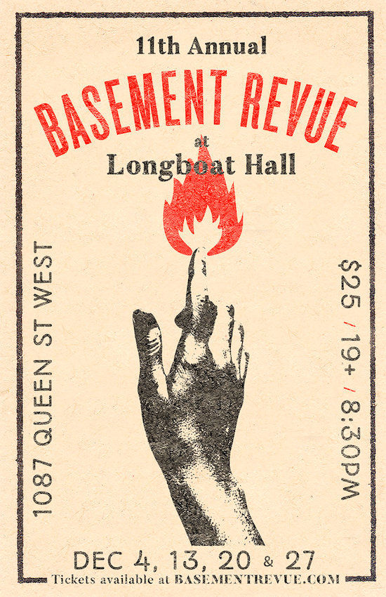 Jason Collett's Basement Revue @ Longboat Hall, Thursday