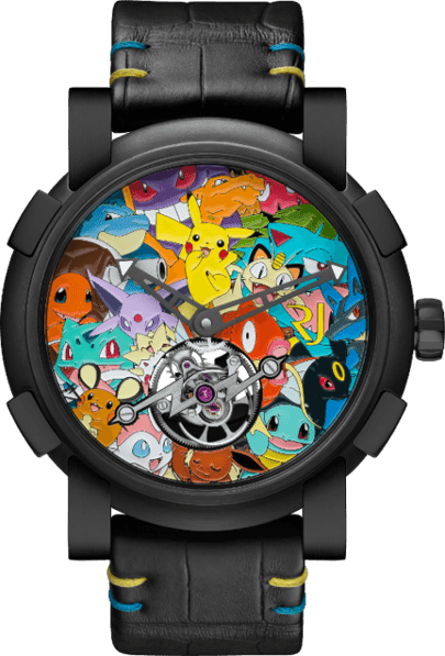 Surge reloj único de Pokémon de 258.000 dólares