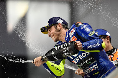 Ada Apa dengan Selebrasi Kemenangan Rossi di Qatar