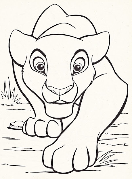 Large Coloring Sheets For Families  Dazzling Disney Character Coloring  Pages Online For Kid Disney Character