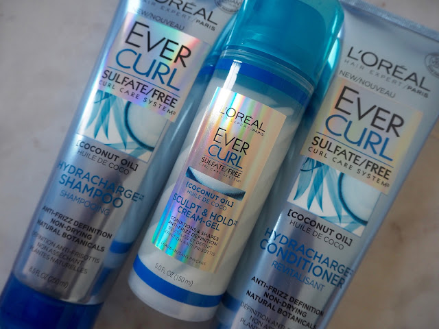 Reviewing Beauty: L'oreal Ever Curl Sulfate/Free Curl Care System