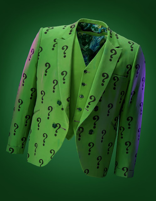 "THE RIDDLER'S  ""?"" GREEN JACKET FROM BATMAN TV SERIES"