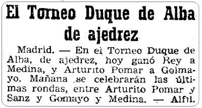 Recorte de Mundo Deportivo, 9 de enero de 1946