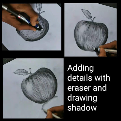 How to draw Apple ,how to draw Apple with pencil, Apple realistic drawing ,pencil drawings, drawing for beginners, step by step tutorial ,Apple graphite pencil drawing ,Apple drawing for beginners ,easy drawing of Apple, drawing for kids