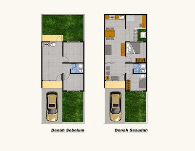 Renovasi Rumah Minimalis Tipe 36