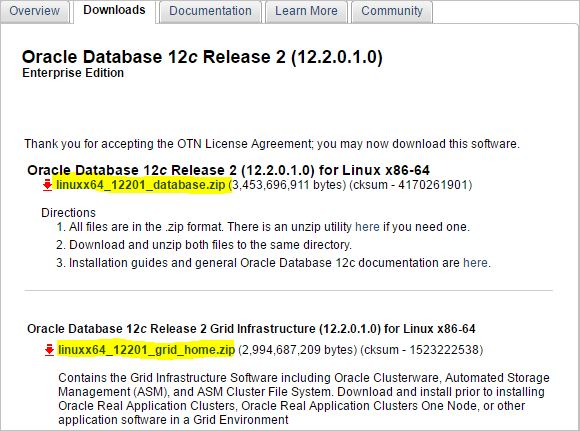 oracle otn downloads
