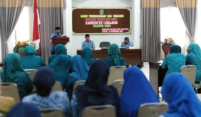 Plh Bupati Gawat dalam Rapat Perencanaan dan Evaluasi GSI