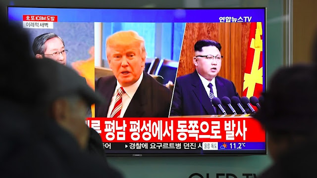"""Corea del Norte: Las palabras de Trump sobre su gran botón nuclear son """"alaridos de un demente"""""""