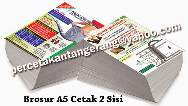 Cetak Brosur di Tangerang