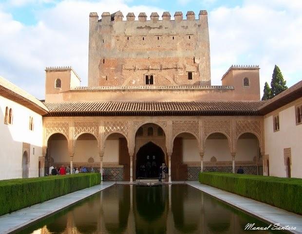 Granada, Alhambra, Palazzo Nazaries