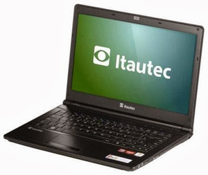 Drivers do Notebook Itautec InfoWay Note A7420/A7520 - Windows 7/8