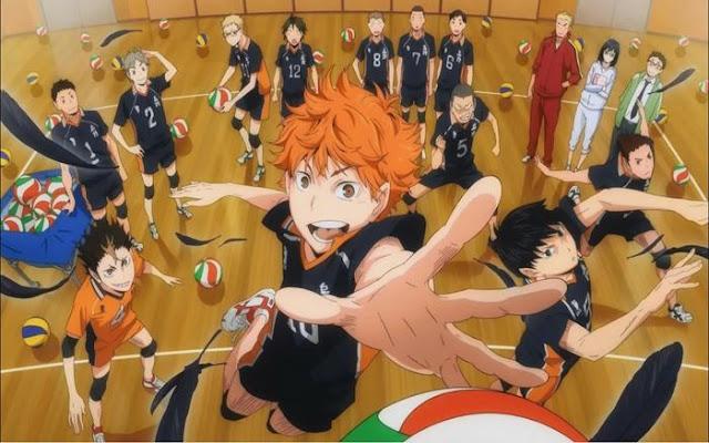 sports anime volleyball terbaik sepanjang masa