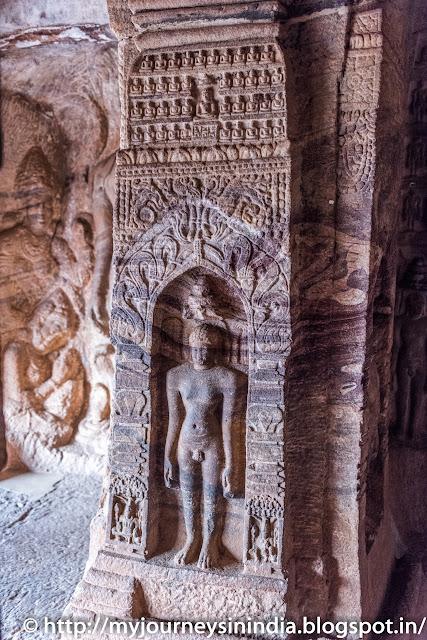 Badami Cave Tirthankaras