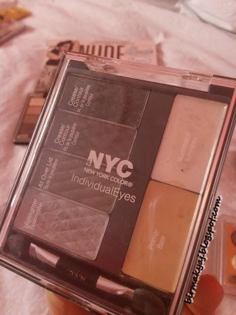 Yeni Başlayanlar İçin Far Paleti Önerisi / NYC IndividualEyes Göz Makyajı Paleti