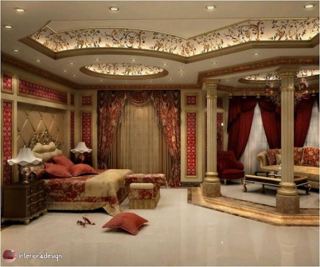 Gypsum Bedroom Designs 6