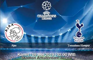 Prediksi Ajax vs Tottenham Hotspur 9 Mei 2019