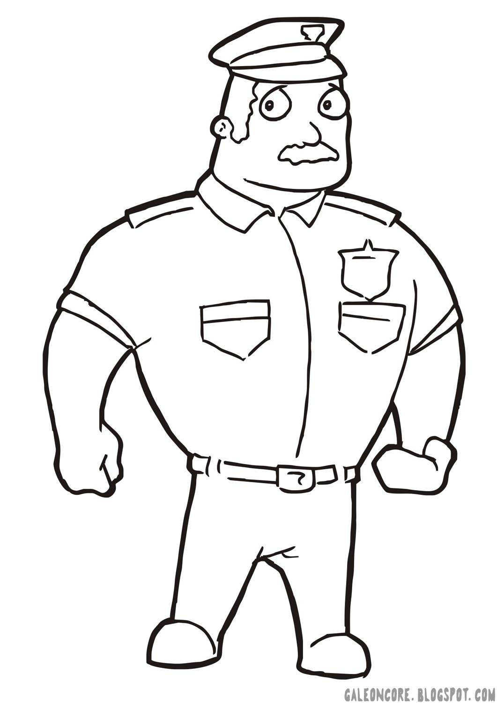 Kartun Anak Polisi Top Lucu