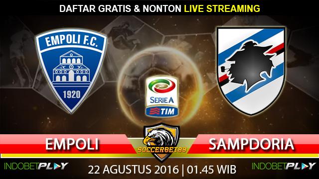 Prediksi Empoli vs Sampdoria 22 Agustus 2016 (Liga Italia)