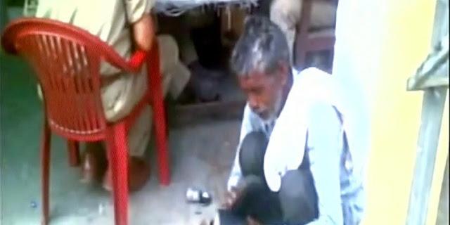 Lapor Kehilangan Ponsel, Pria Miskin Ini Justru Disuruh Menyemir Sepatu Polisi