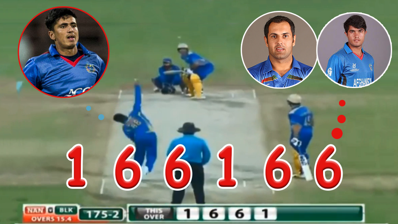 APL T20 BL VS NL Mohammad Nabi & Darwish Rasooli Hitting  SIX's Off! Mujeeb Ur Rahman 26 Of 6