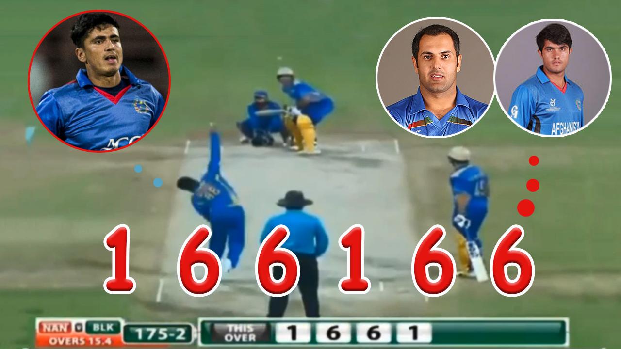 APL T20 BL VS NL Mohammad Nabi & Darwish Rasooli Hitting  SIX's Off! Mujeeb Ur Rahman 26 Of 6