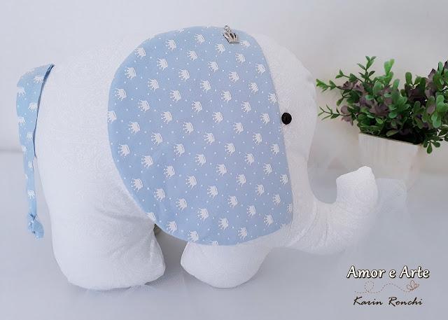 Kit Almofadas Decorativas! Nuvem, gota e elefantinho!