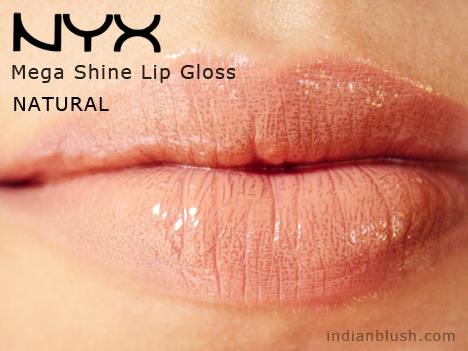 NYX Mega Shine Lip Gloss NATURAL