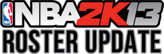 NBA 2K13 January 2013 Roster Update Patch PC XBOX PS3 Download