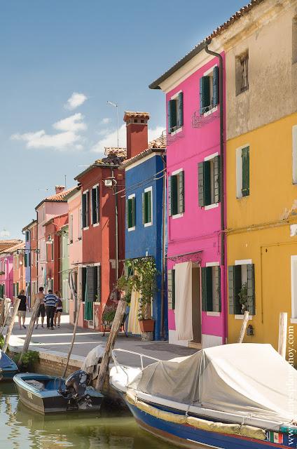 Burano Viaje norte Italia 15 días