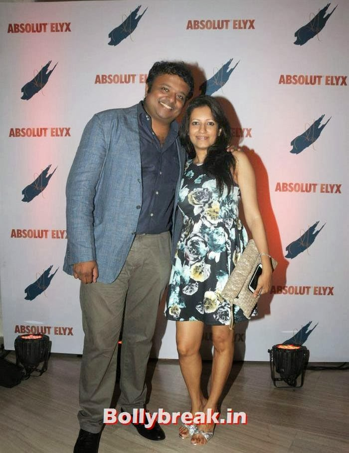 Hrish K, Suchitra Pillai Hosted Absolute Elyx Party
