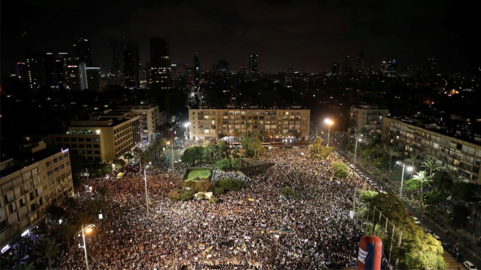Protes massal di Israel atas diskriminasi hukum warganya