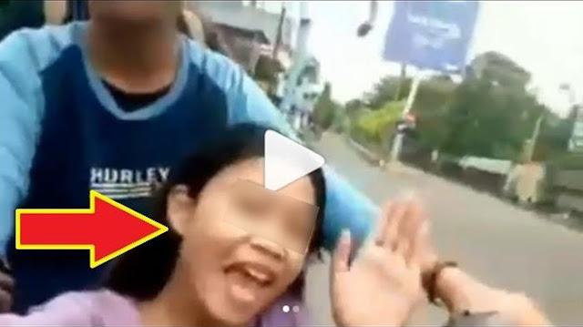 Sok Sokan Dijalan, Bonceng Tiga Sambil Selfie, Para Remaja ini Kena Batunya