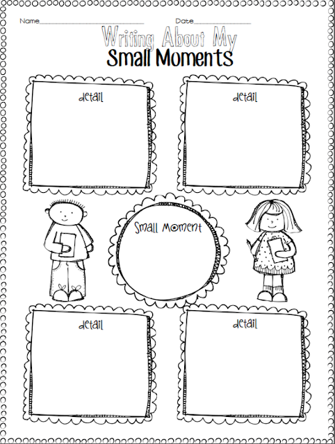 NEW 293 NARRATIVE WRITING WORKSHEETS FOR FIRST GRADE