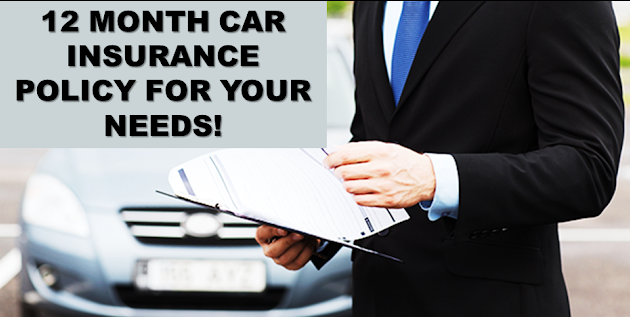 12 Month Auto Insurance Quotes