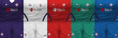 PES 6 Kits ACF Fiorentina Season 2018/2019 by VillaPilla