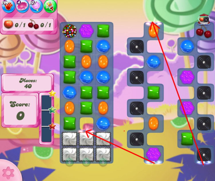 Candy Crush Saga level 2608