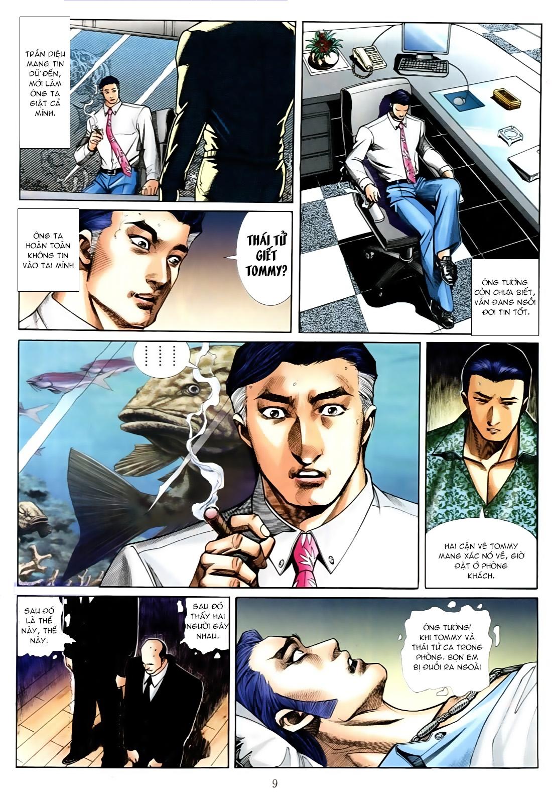 Người Trong Giang Hồ chapter 556: làm khó nam đẹp trai trang 3