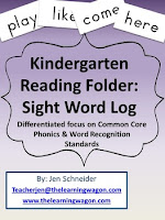 https://www.teacherspayteachers.com/Product/Kindergarten-Reading-Folder-Sight-Word-Log-All-220-Dolch-Sight-Words-907180