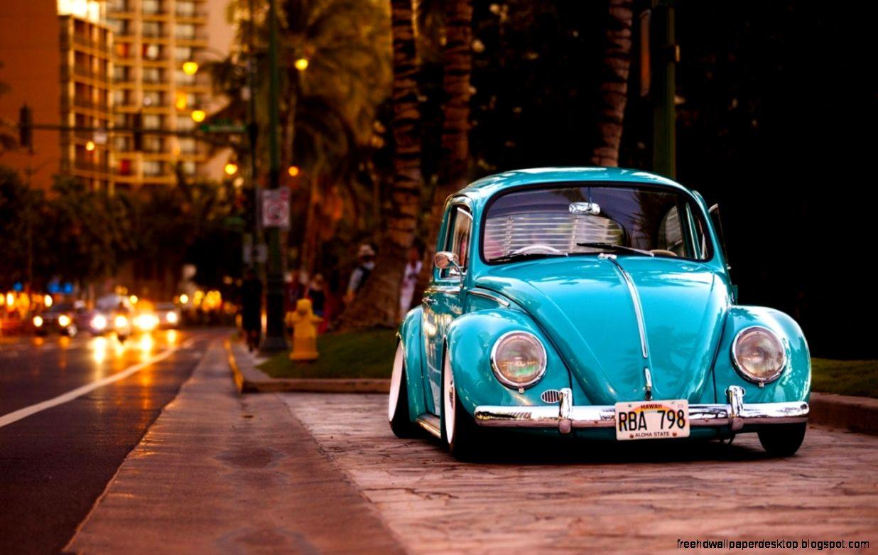 Vw Volkswagen Beetle Bug Hd Wallpaper  Free High