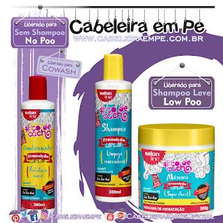 Linha Transição Capilar - Salon Line (Shampoo, Máscara e Condicionador liberados para Low Poo)